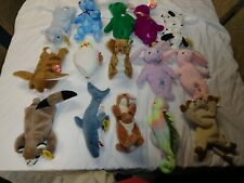 Ty Beanie Babies & Other Ty Plush Mixed Sizes & Condition Lot of 15 (see below)
