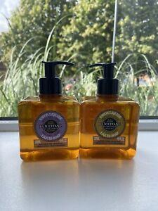 Loccitane Liquid Soap For Hands & Body Set Lavender& Verbena 2x300ml
