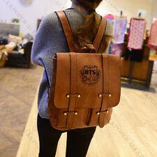 Kpop BTS Backpack School Bag Bangtan Boys Jung kook Shoulder Handbag JIN V SUGA