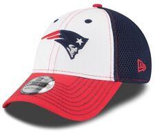 New Era New England Patriots Hat Flex Fit 39thirty Mesh Small Medium Cap
