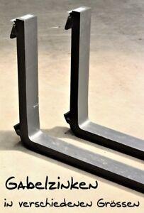 Gabelzinken ISO FEM 2A 800 - 2400 mm 1900kg-3000kg Gabelstapler Zinken Stapler