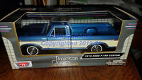 1979 Ford F-150 Pickup Truck1:24 Scale Diecast CAR Model New in Box Blue & White