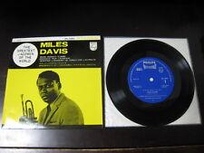 "Miles Davis Round Midnight Japan Vinyl EP 7 inch Single 7"" Mid60's John Coltrane"