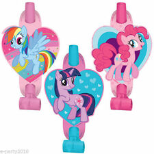 MY LITTLE PONY Friendship is Magic BLOWOUTS (8) ~ Birthday Party Supplies Favors