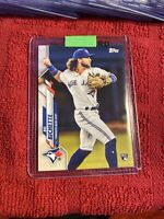2020 Topps Bo Bichette Rookie Card RC Toronto Blue Jays INVEST🔥🔥🔥🔥TOR-2!