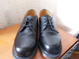 Genuine Dr. Martens Airwair DM's Industrial Black Steel Top Safety Shoes UK 11