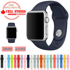 Soft Silicone Wrist Strap Sports Band for Apple Watch iWatch Series 1 2 3 4 5 6