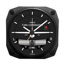 Trintec Aircraft Instrument Turn & Bank Desk Model Alarm Clock - DM26