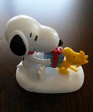 Snoopy & Woodstock Figur Aufsteller / Peanuts - For my best friend ! / Neu & OVP