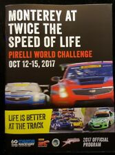 Mazda Laguna Seca Global MX 5 Cup Pirelli Official Program 2017