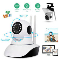 Wireless Security Camera Baby Monitor WiFi 1080P Pan/Tilt LOT IP Home Motion Cam