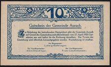 1920 autriche 10 heller notgeld note * ef * ref 126 *