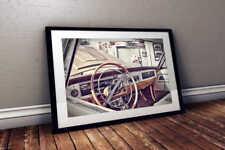 1965 Dodge Coronet Interior MOPAR 24x36 HD Muscle Car Poster Print