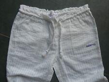 Très joli pantalon BILLABONG Blanc 12 ans Etat NEUF