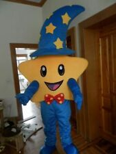 Halloween Pentagram Stars Mascot Costume Suits Party Dress Adult Outfit Cosplay