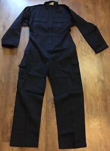British Royal Navy Issue General Service Fire Retardant Coveralls Various Sizes