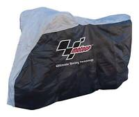 MOTOGP RAIN COVER - BLACK/GREY - XL FITS 1200 AND OVER