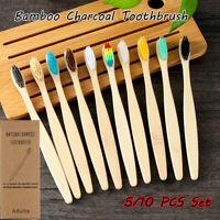 buccaux Bois Brosse à dents Brosse à dents Type écologique Cheveux fibreux doux