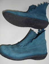 Loonts Loints of Holland Stiefelette Turquoise petrol ZACKEN Gr. 40