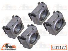 4 ECROUS CAGE M10 pour fixation d'enjoliveur de Citroen 2CV DYANE MEHARI  -1177-