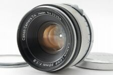 【Excellent+++++】Canon 35mm F/1.8 Lens Leica Screw Mount L39 LTM from Japan #719