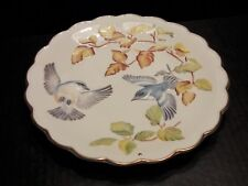 ROYAL WORCESTER THE BIRDS OF DOROTHY DOUGHTY PLATE CERULEAN WARBLERS & BEECH