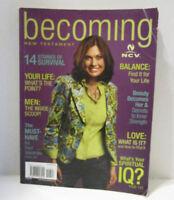 Becoming New Testament (Biblezines) Magazine Style  New Century Version 2004