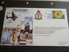 World War 2 50th Anniversary fdc 1995 Operation Manna  29th April - 5th May 1945