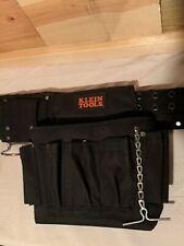 NWOT Klein Tools Construction Tool Belt Black Nylon  Work Job site