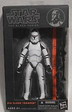 "NEW!!! Star Wars The Black Series #14 Clone Trooper 6"" Action Figure"