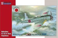 SPECIAL HOBBY SH72193 1/72 Nakajima Ki-43-II Otsu Hayabusa