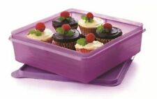 Tupperware Bake To Basic Storage 2.9L B2B Snack Stor Sweet Keeper Purple