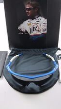Oakley Pro M Frame Rusty Wallace Electric Blue Black Iridium Hybrid+Original Box