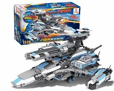 Cogo 15050 Building Bricks Military Spaceship 8 in 1 Toy Model Gift