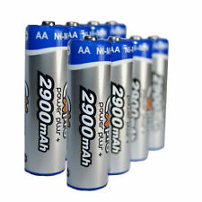 Ex-Pro® Power Plus+ Rechargeable Ni-Mh Batteries - - 8 Pack - AA Size [2900mAh]