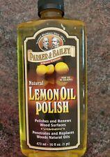 Parker And Bailey Lemon Oil Polish