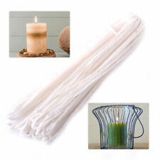 10 Yards DIY Candle Making Long Braided Candle Wick Pre Waxed Cotton Core 16mm