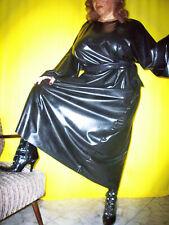 Latexkleid,Gummikleid,Gummirobe,Latex,Rubber,Nachthemd, 0,5 stark, hier M/L