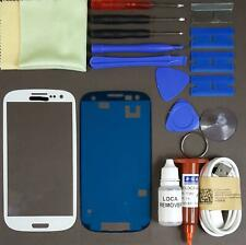 Samsung Galaxy S3 Front Glass Screen Replacement Repair Kit WHITE