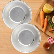 10pcs Egg Tart Cupcake Pie Pan Molds Baking Tray DIY Reusable Non Stick Moulds