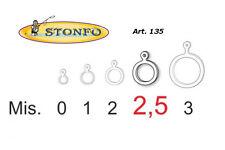 Anelli Elastici Stonfo Esche Piccole art.135 - Per l'innesco di Pellet ed esche