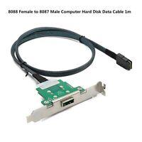 Mini Sas Server Transmission Cable SFF-8088 to SFF-8087 Computer Hard Disk Data
