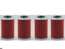 4-Pack Oil Filter KTM 450/525XC,Polaris Outlaw 450/525,EXC,SX,XCW,FE,FC, MX/ATV