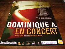 DOMINIQUE A - PUBLICITE CONCERT REMUE !!!!!!!!!!