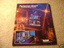 NSM Performer Grand jukebox  flyer