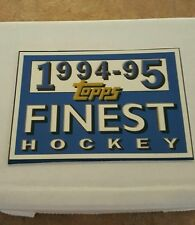 1994-95 TOPPS FINEST HOCKEY COMPLETE SET MINT  BV$50.00!!!!!!
