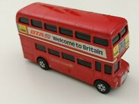 Corgitronics London Bus Diecast Toy With Electronic Sound - Tested - See Details
