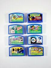 Lot of 8 Leapfrog LeapPad Leapster Game Cartridges - Kids, Nickelodeon, Marvel