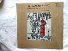 GUILLAUME DUFAY~SECULAR AND SACRED MUSIC~SEALED~STORE STOCK~~ CLASSICAL  LP
