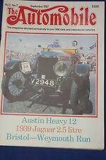 The Automobile Magazine September 1987 Vol. 5 No. 7